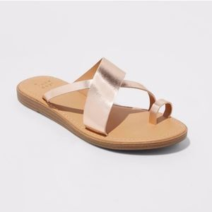 NWT A New Day Rose Gold Sandal Size 7.5